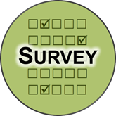 a form with word survey on top