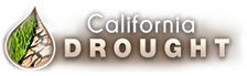 California Drought Sign