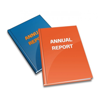 Annual report books
