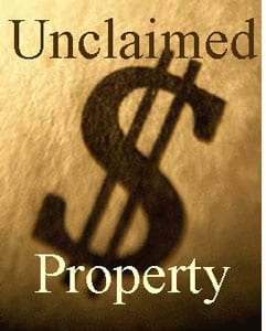 A picture of the Unclaimed Property