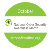 Image result for national cybersecurity awareness month 2016