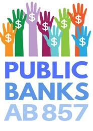 Hands with dollar sign of Public Bank logo
