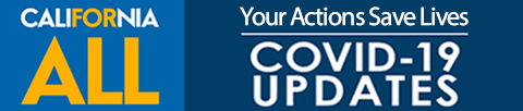 California All - Your Actions save live COVID19 Updates