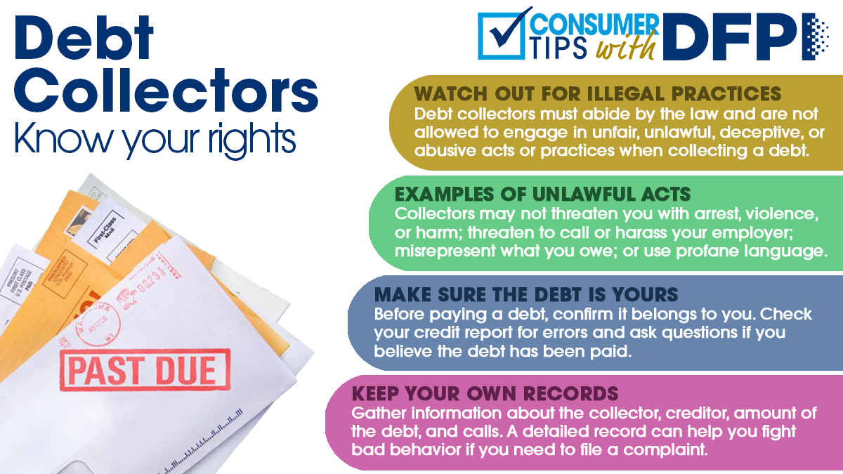 Debt Collectors know your rights