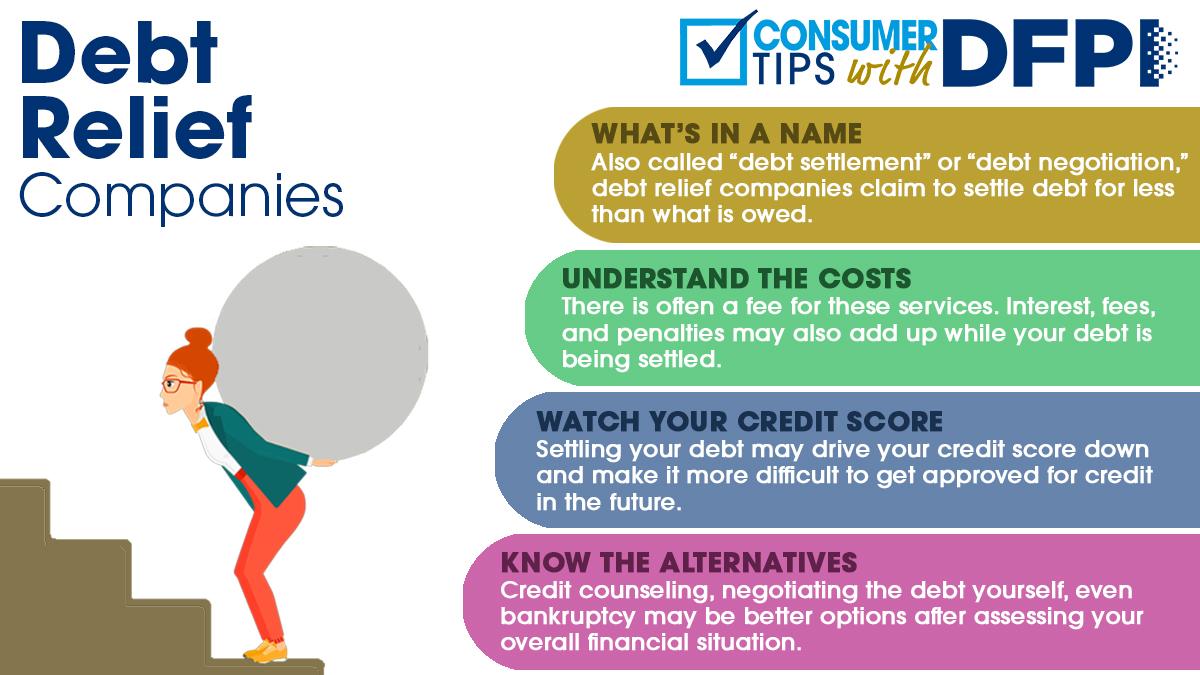 Debt Relief consumer tips