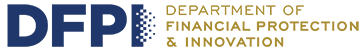 The Department of Financial Protection and Innovation Logo