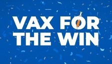 Vax for the Win logo